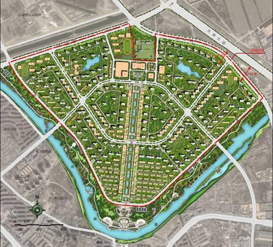 河东新城动迁规划图图片大全 新北京通州新城发展规划亮相